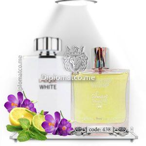 لالیک سفید white (اسمارت کد ۴۳۸ - 100 میل)