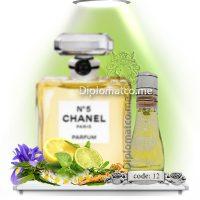 چنل نامبر فایو Chanel N°۵ (اسمارت کد ۱۲ - ۱۵ میل)